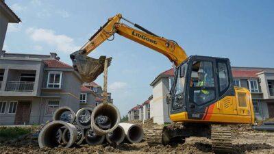 Mini excavator pe senile LiuGong Dressta 908E Mini excavator pe senile