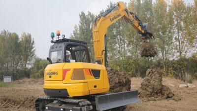 Mini excavator pe senile LiuGong Dressta 909ECR Stage V Mini excavator pe senile