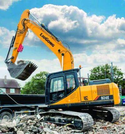 Excavator pe senile LiuGong Dressta 924E Excavator pe senile