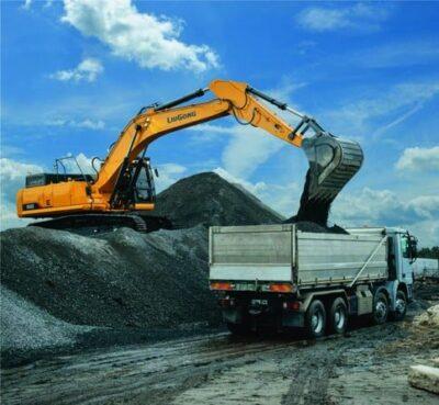 Excavator pe senile LiuGong Dressta 930E Stage V excavator