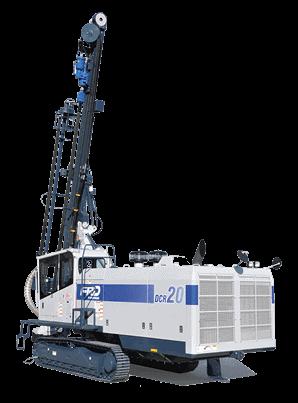 Echipament de perforat - foreza Furukawa DCR 22 foreza