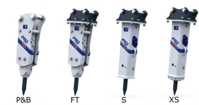 Ciocan hidraulic gama FX ALPHA Ciocan hidraulic