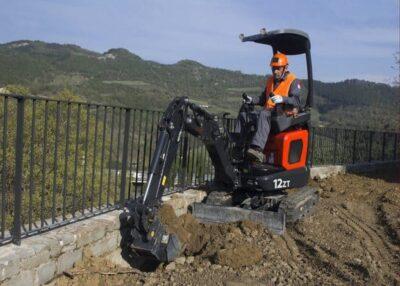 Mini excavator Eurocomach 12ZT Mini excavator