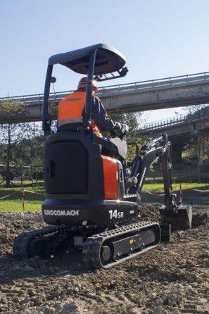 Mini excavator Eurocomach 14SR Mini excavator