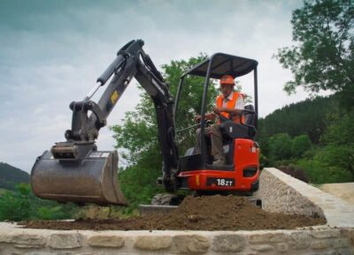 Mini excavator Eurocomach 18ZT Mini excavator