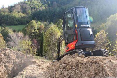 Mini excavator Eurocomach 25ZT Mini excavator