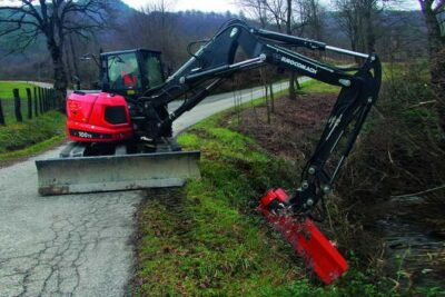Mini excavator Eurocomach 100TR mini excavator