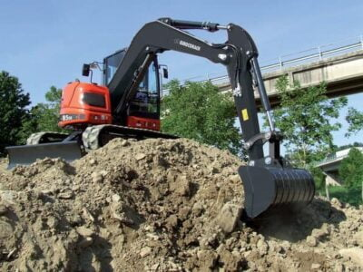 Mini excavator Eurocomach 85SB Mini excavator