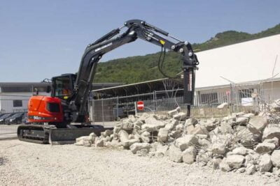 Mini excavator Eurocomach 90ZT Mini excavator