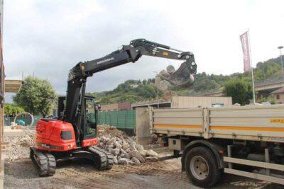 Mini excavator Eurocomach 95UR Mini excavator