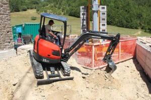 mini excavator 35 zt