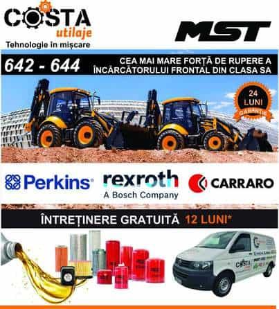 Buldoexcavatoare MST 642 / 644