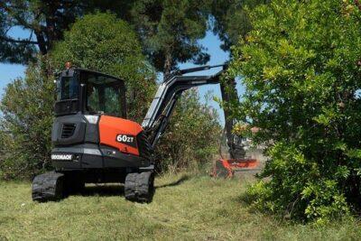 Mini excavator Eurocomach 60ZT Mini excavator