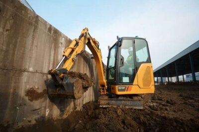 Mini excavator pe senile LiuGong Dressta 9018F Stage V Mini excavator pe senile