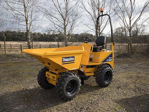 dumper transmisie hidrostatica 1.5 tone thwaites excavatoare buldo excavatoare mini excavatoare